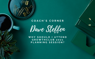 Why Should I Attend GrowthCLUB 2021 Planning Session?